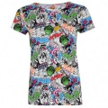 Character Short Sleeve T Shirt Ladies Marvel AOP - tričko - vel. M (12)
