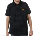 Everlast Chequered Polo Mens Black - tričko - vel. M