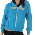 Lonsdale Bld Zip Hoody Blue Pop - mikina - vel. S (10)