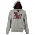 Lonsdale Chunky Zip Hoody Grey Marl - mikina - vel. XL
