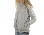 Lonsdale Polar Fleece Lds Grey Marl - mikina - vel. XL (16)