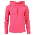 Miss Fiori Cowl Neck Polar Fleece Hot Pink - mikina - vel. M (12)