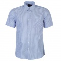 Pierre Cardin S/S Shirt Mens Blue/White Stripe - košile - vel. XXXXL (4XL)
