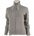Puma FT Zip Sweat Lds Grey Heather - mikina - vel. L (14)
