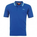 Slazenger Tipped Polo Mens Royal - tričko - vel. XXXXL (4 XL)