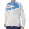Umbro DiamondPro Track Jacket White/Blue - bunda, mikina - vel. XL